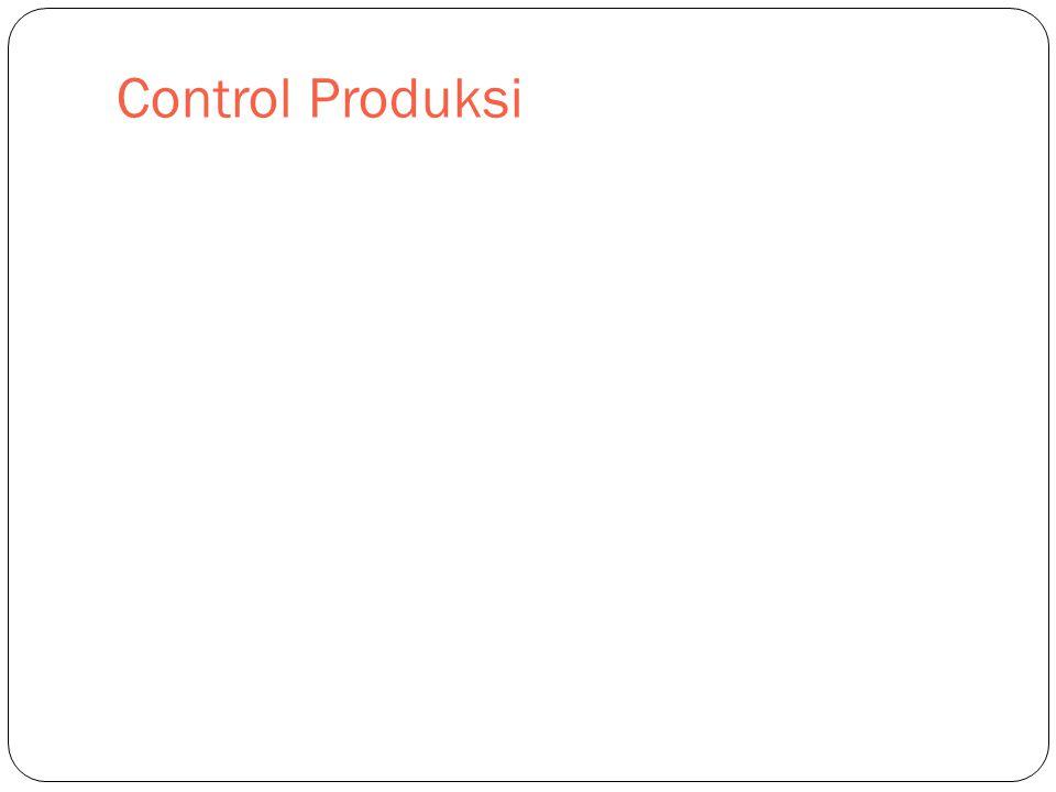 Control Produksi