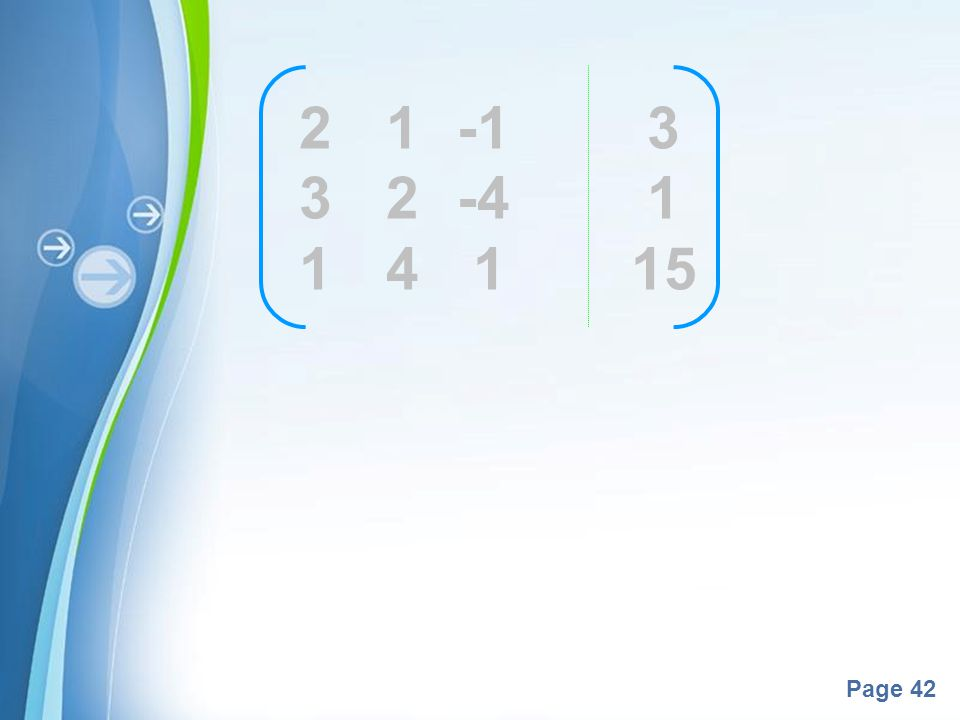 2 1 -1 3 3 2 -4 1 1 4 1 15