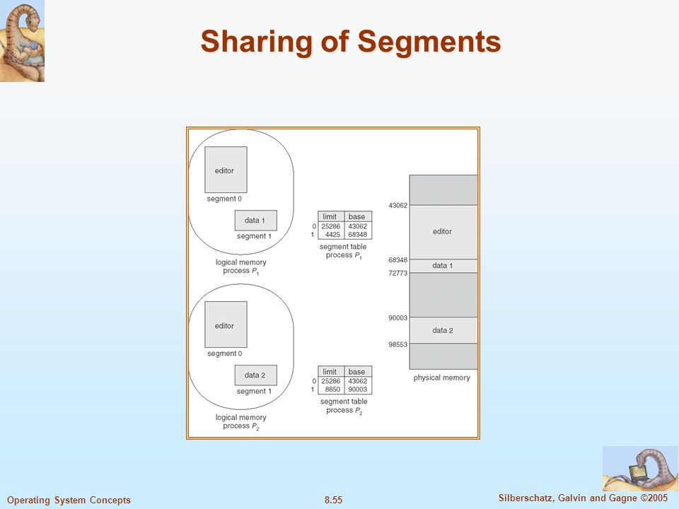 Sharing of Segments