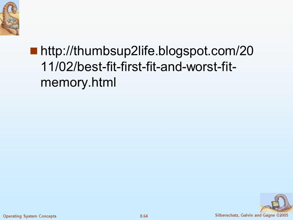 http://thumbsup2life. blogspot