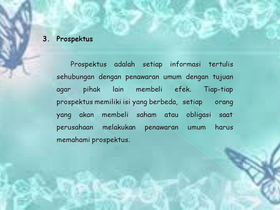 3. Prospektus