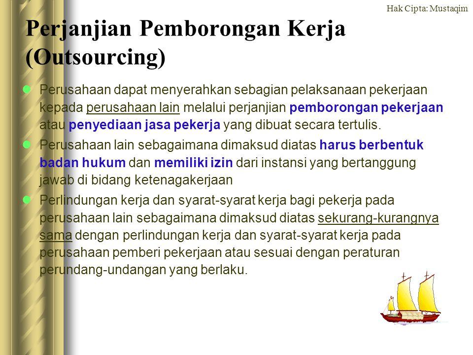 Perjanjian Pemborongan Kerja (Outsourcing)