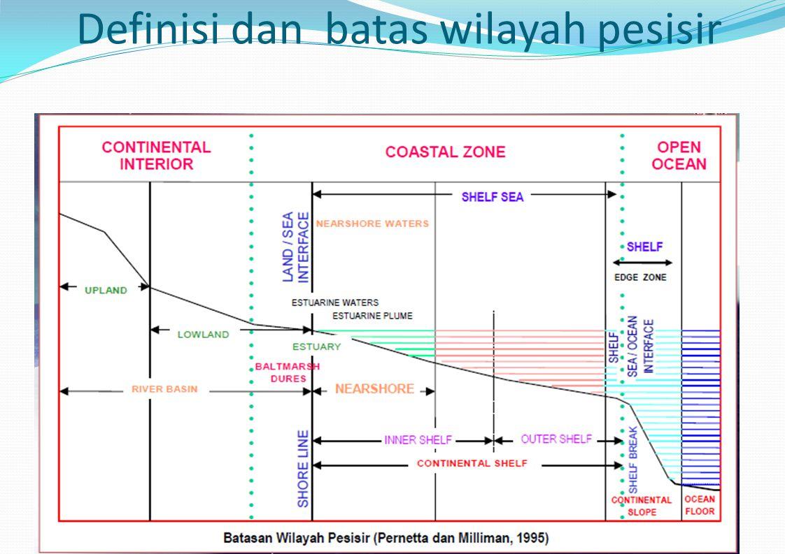 Definisi dan batas wilayah pesisir