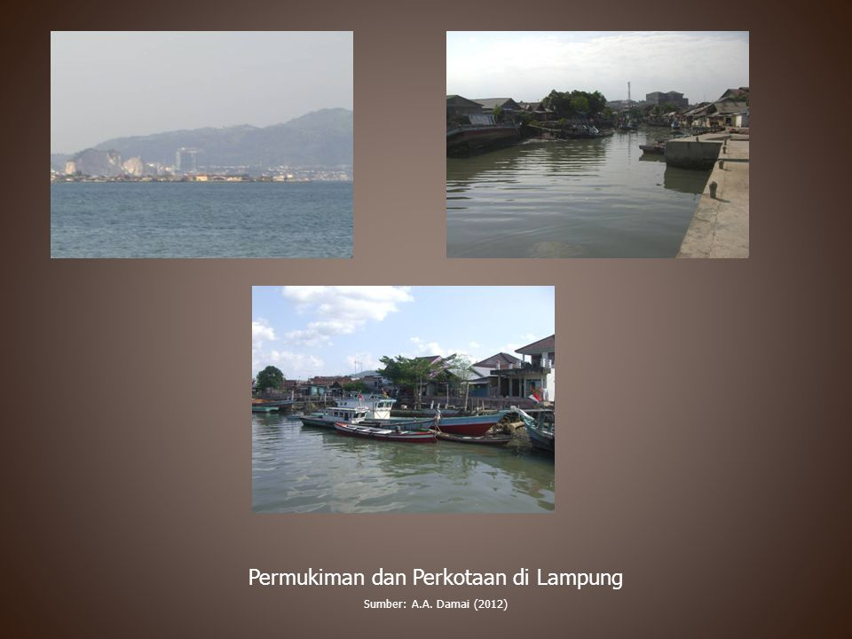 Permukiman dan Perkotaan di Lampung
