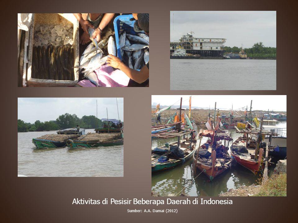 Aktivitas di Pesisir Beberapa Daerah di Indonesia