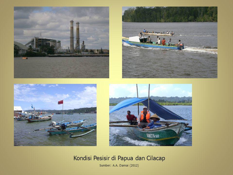 Kondisi Pesisir di Papua dan Cilacap