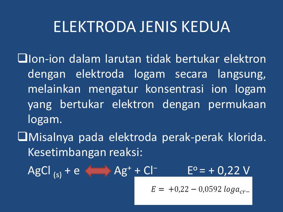 ELEKTRODA JENIS KEDUA