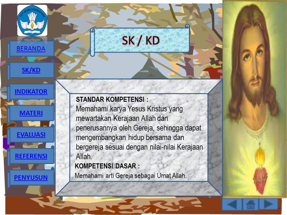 SK / KD STANDAR KOMPETENSI :
