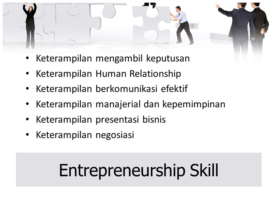 Entrepreneurship Skill