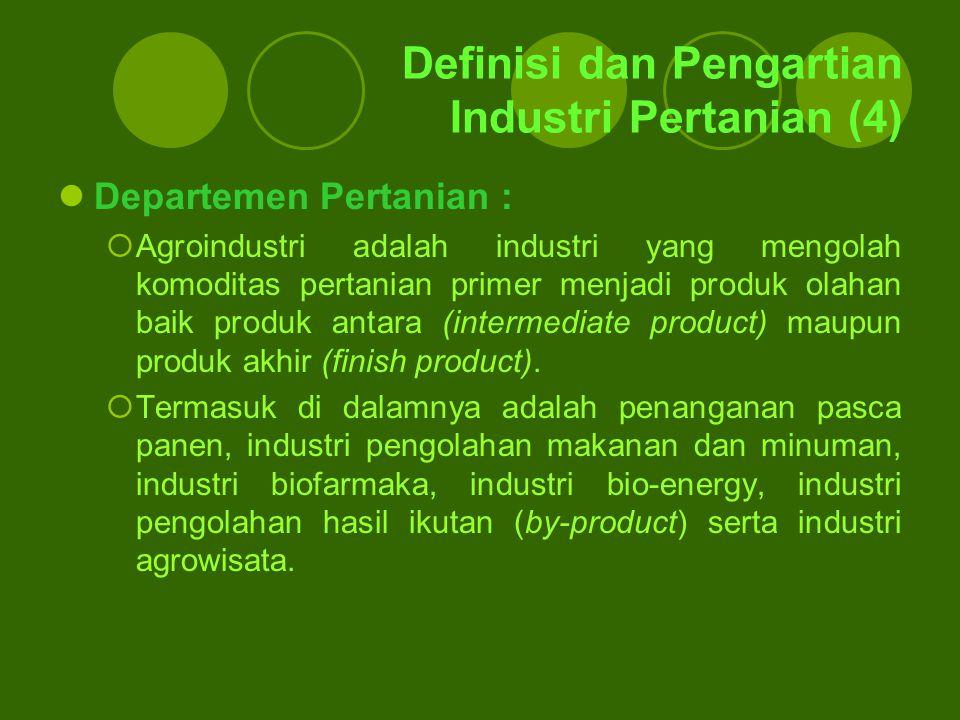 Definisi dan Pengartian Industri Pertanian (4)