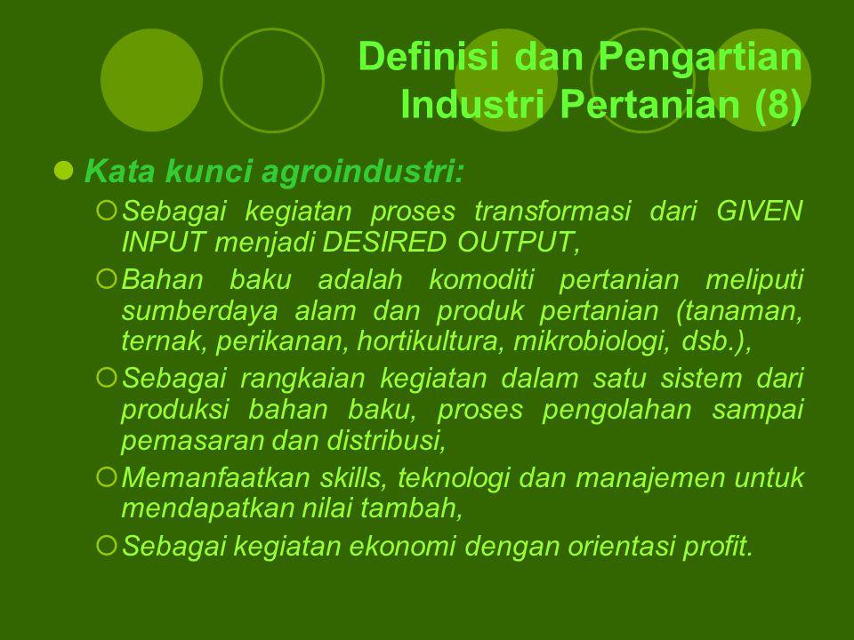 Definisi dan Pengartian Industri Pertanian (8)