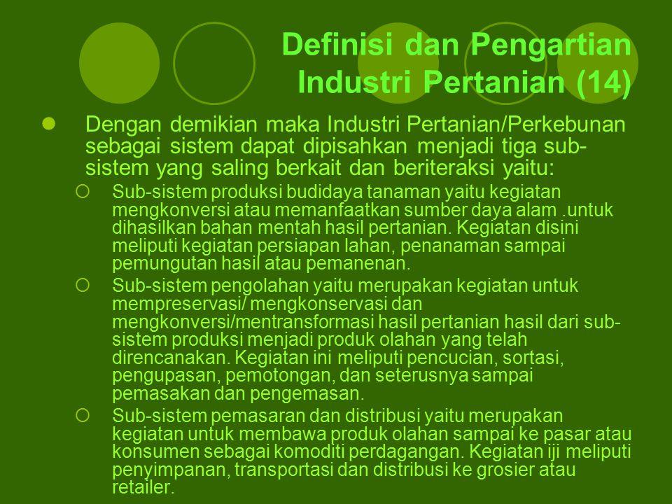 Definisi dan Pengartian Industri Pertanian (14)