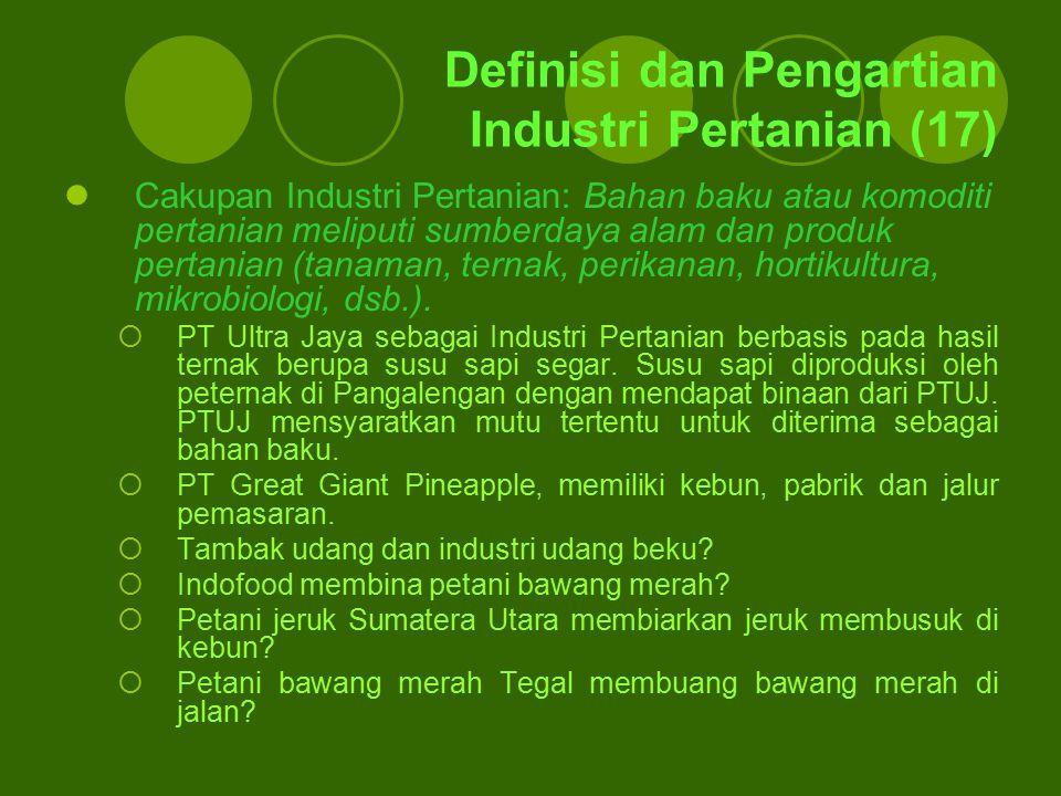 Definisi dan Pengartian Industri Pertanian (17)