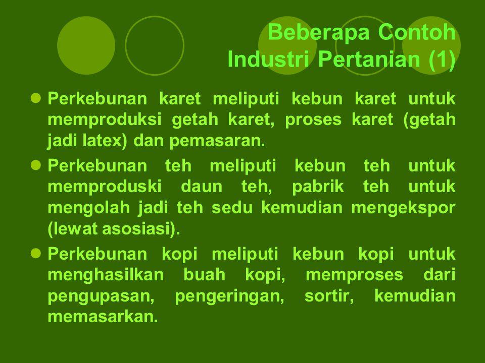 Beberapa Contoh Industri Pertanian (1)