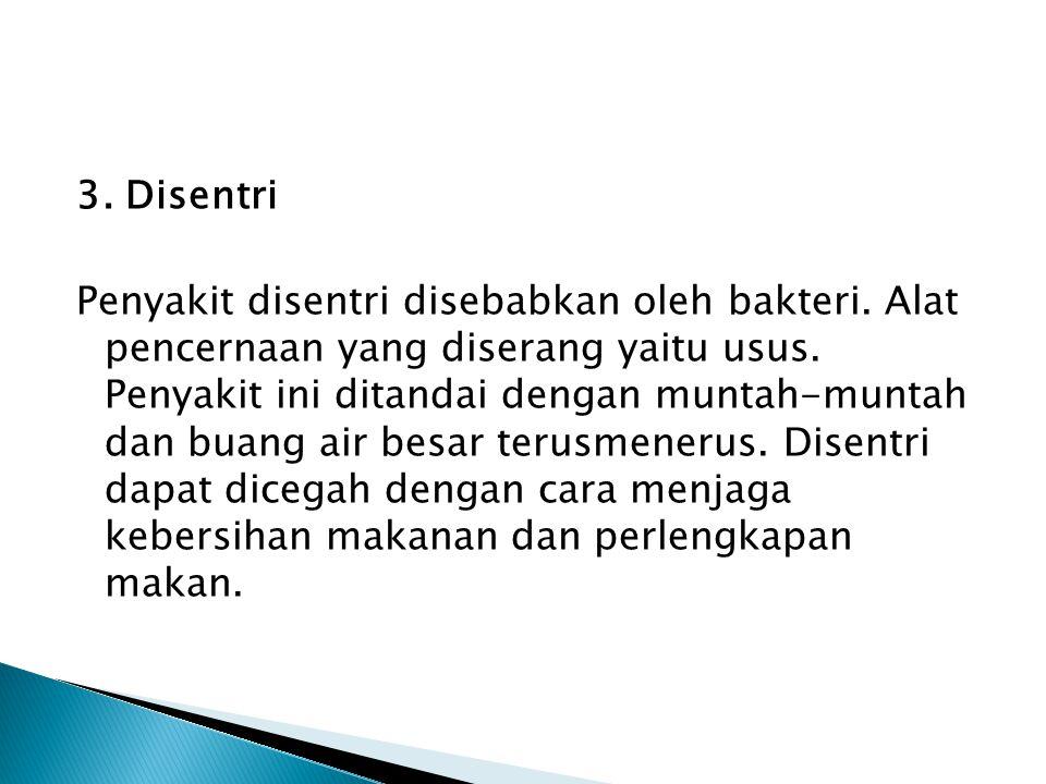 3. Disentri