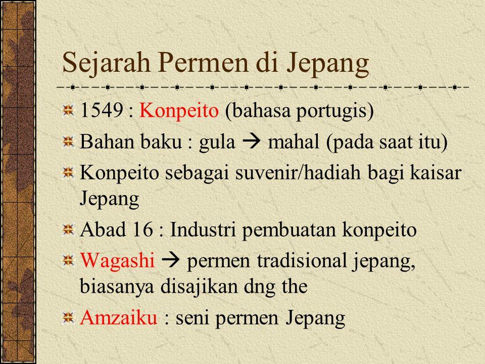 Sejarah Permen di Jepang
