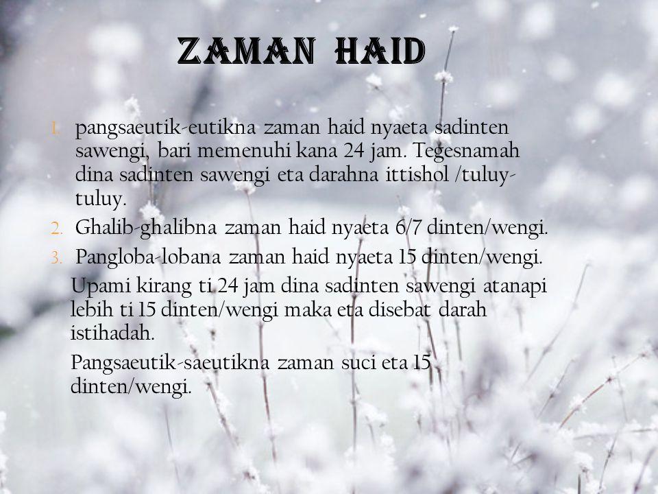 ZAMAN HAID