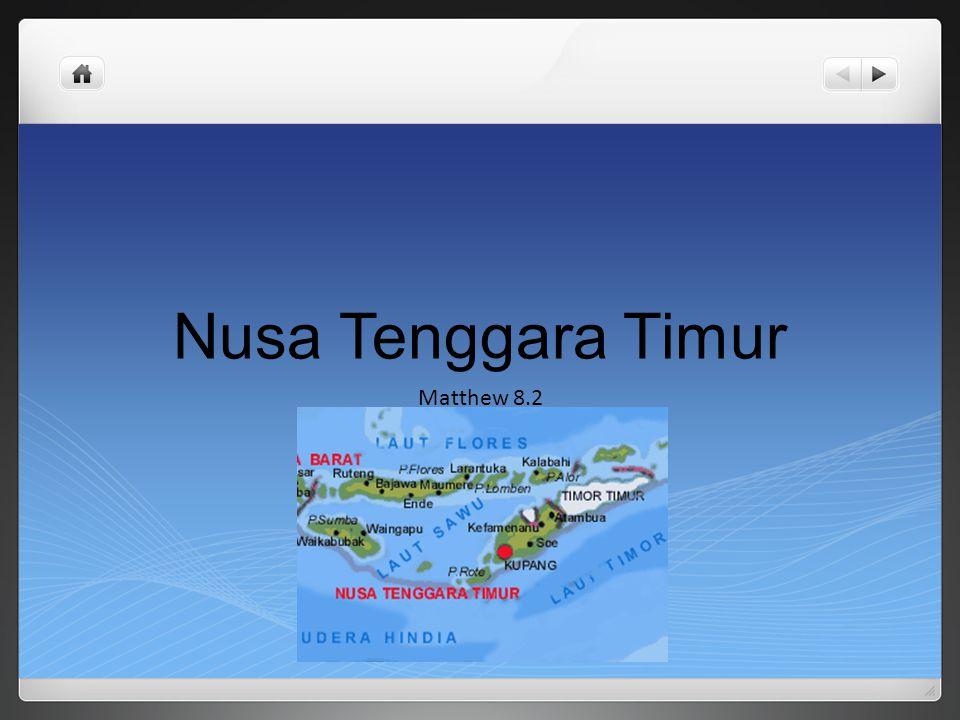 Nusa Tenggara Timur Matthew 8.2