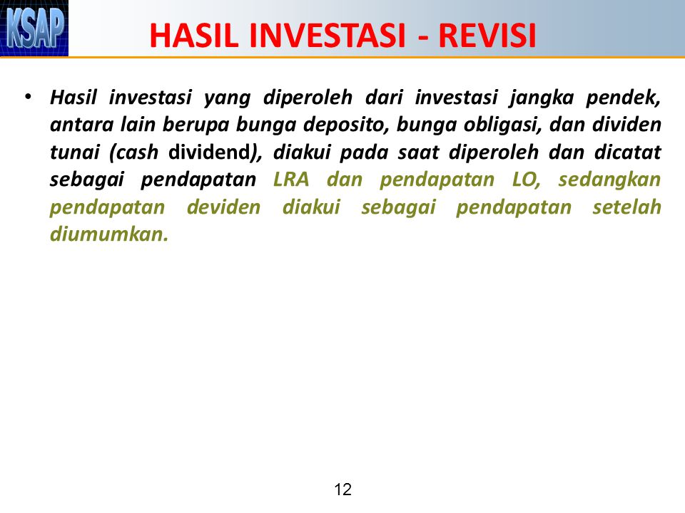 HASIL INVESTASI - REVISI
