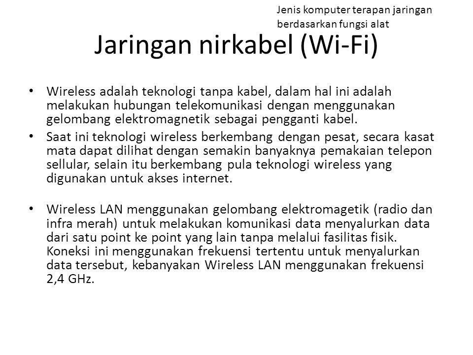 Jaringan nirkabel (Wi-Fi)
