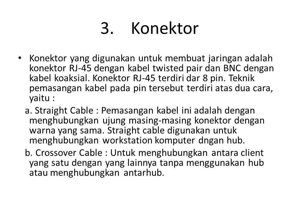 3. Konektor
