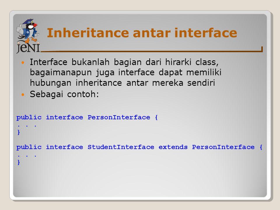 Inheritance antar interface