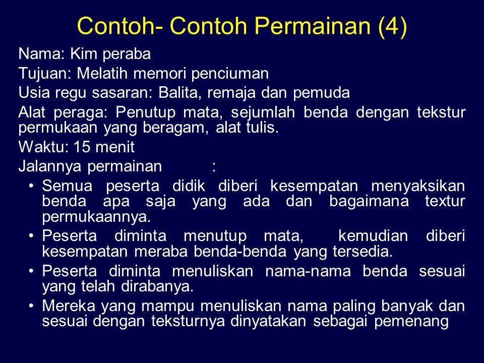 Contoh- Contoh Permainan (4)