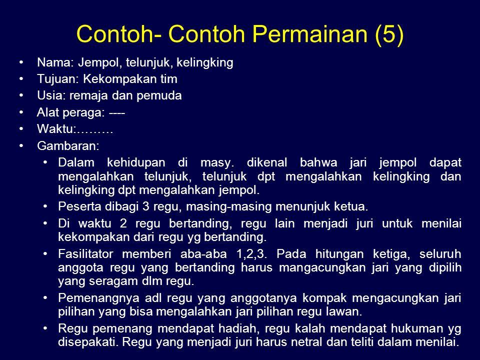 Contoh- Contoh Permainan (5)