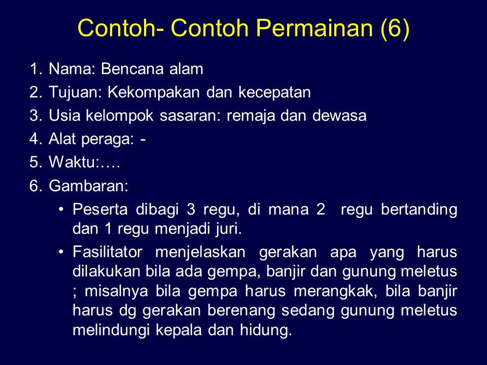 Contoh- Contoh Permainan (6)