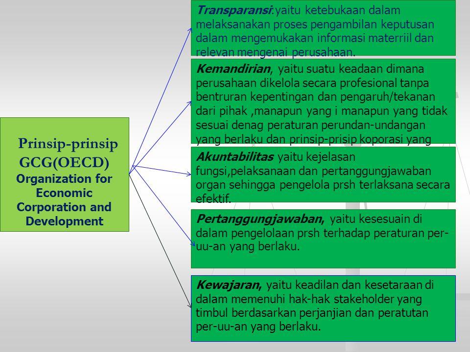 Prinsip-prinsip GCG(OECD)