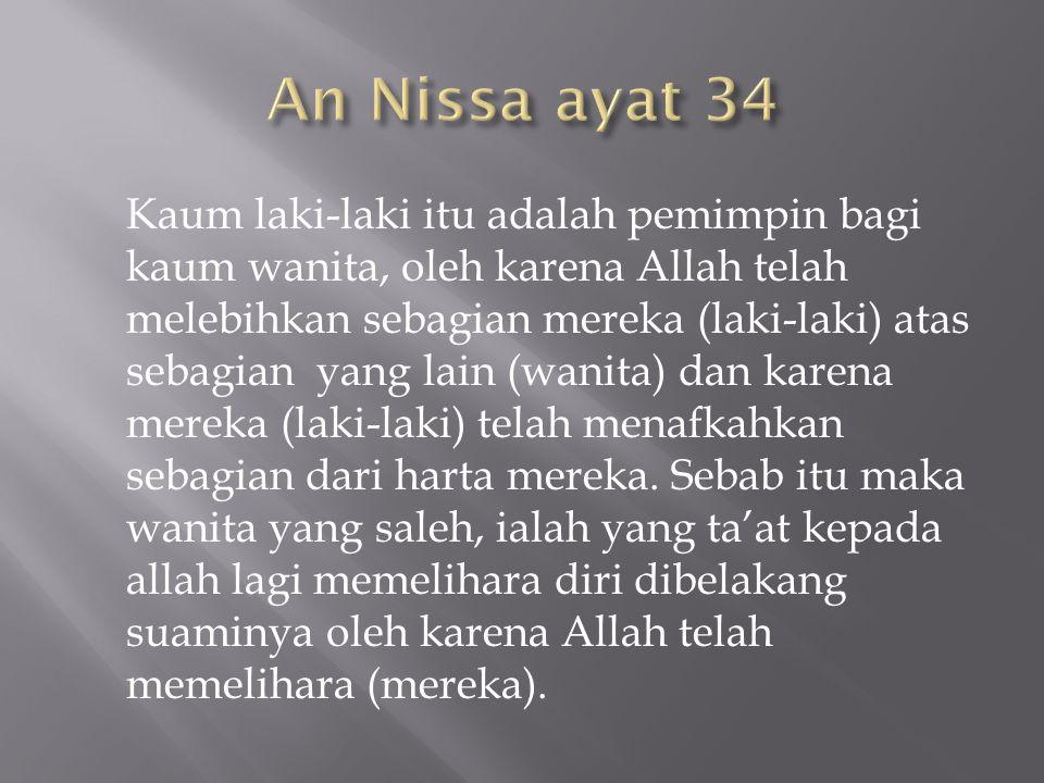An Nissa ayat 34
