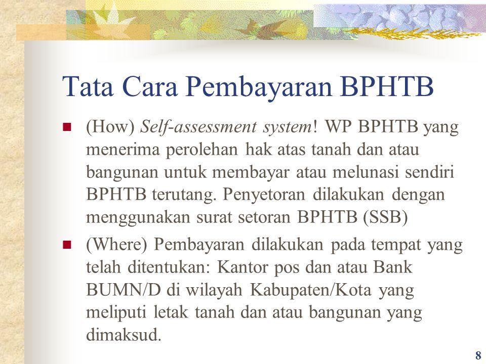 Tata Cara Pembayaran BPHTB