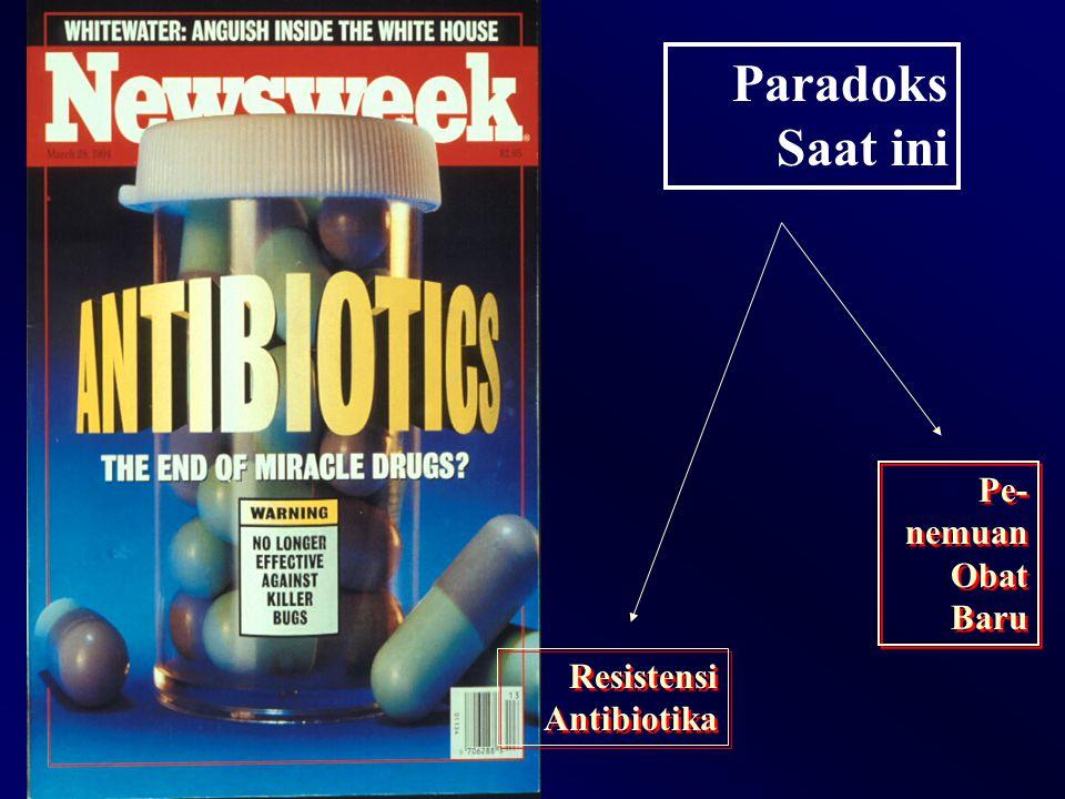 Paradoks Saat ini Pe- nemuan Obat Baru Resistensi Antibiotika