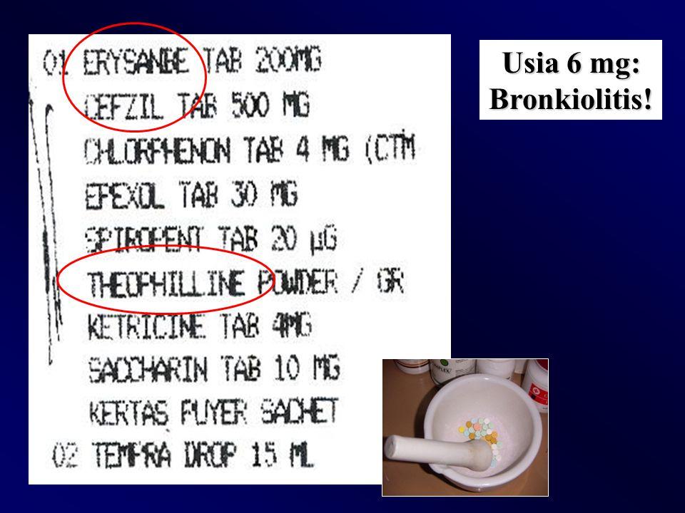 Usia 6 mg: Bronkiolitis!