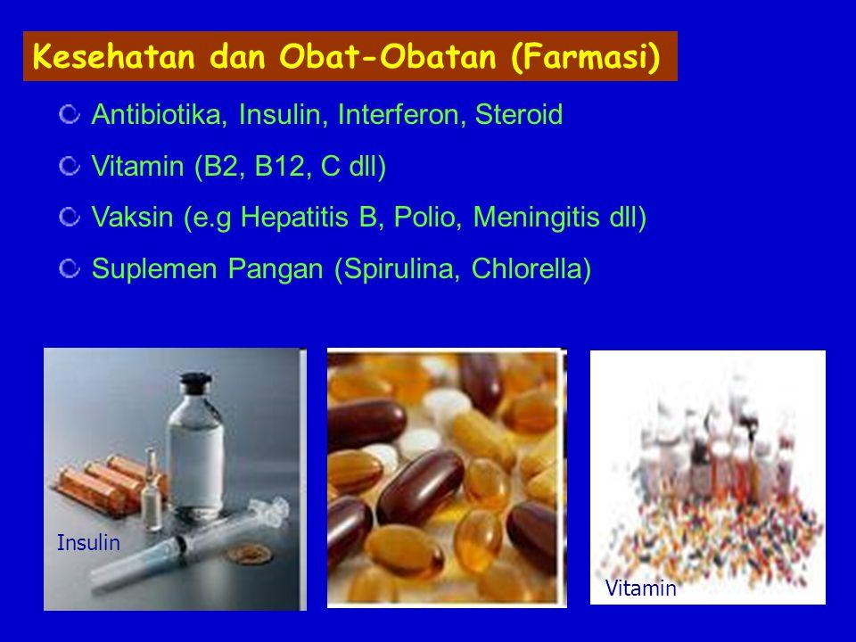 Kesehatan dan Obat-Obatan (Farmasi)