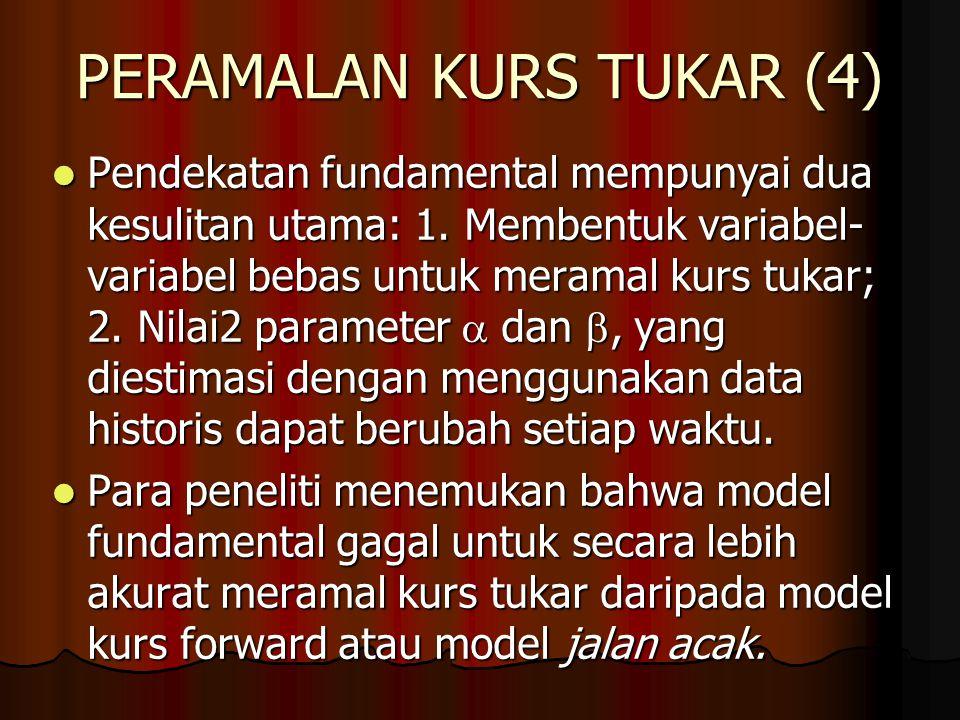 PERAMALAN KURS TUKAR (4)