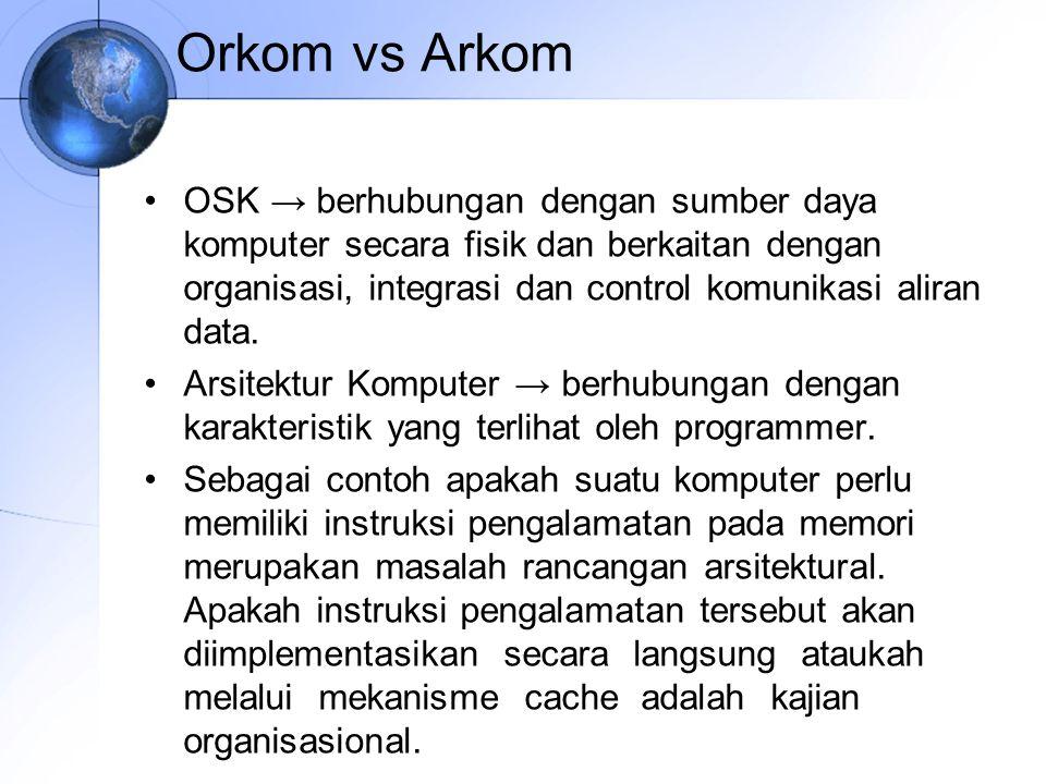 Orkom vs Arkom