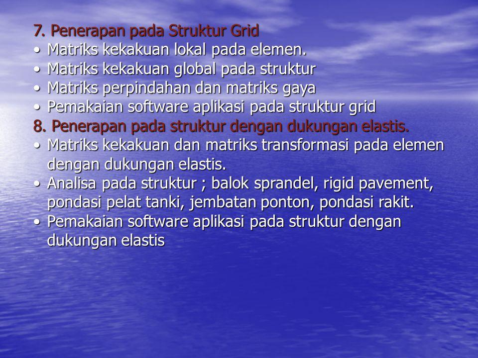7. Penerapan pada Struktur Grid