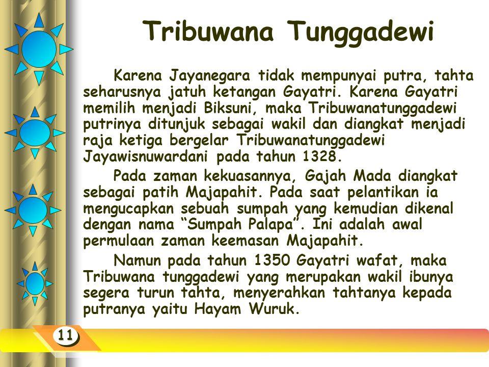Tribuwana Tunggadewi