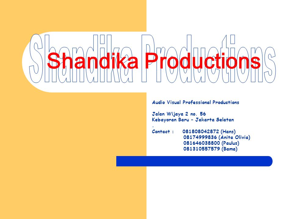 Shandika Productions Shandika Productions
