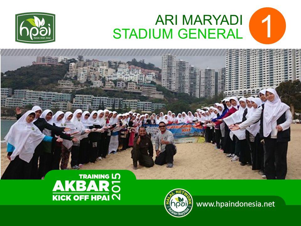 ARI MARYADI STADIUM GENERAL