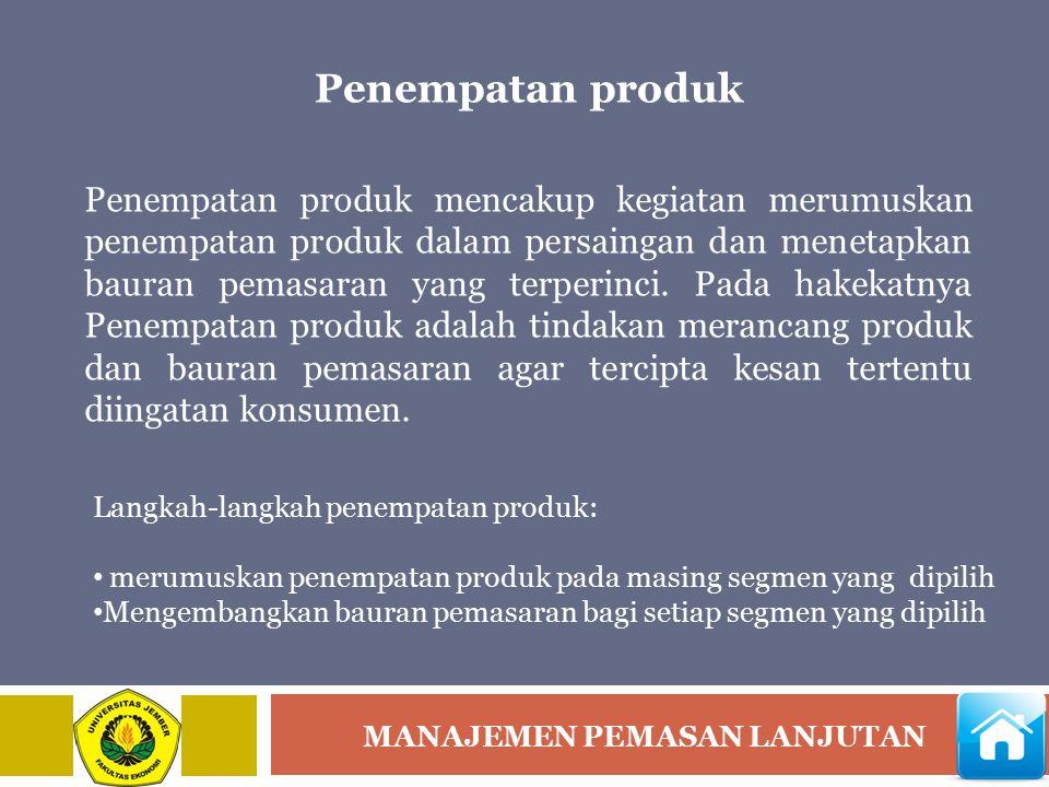 Penempatan produk