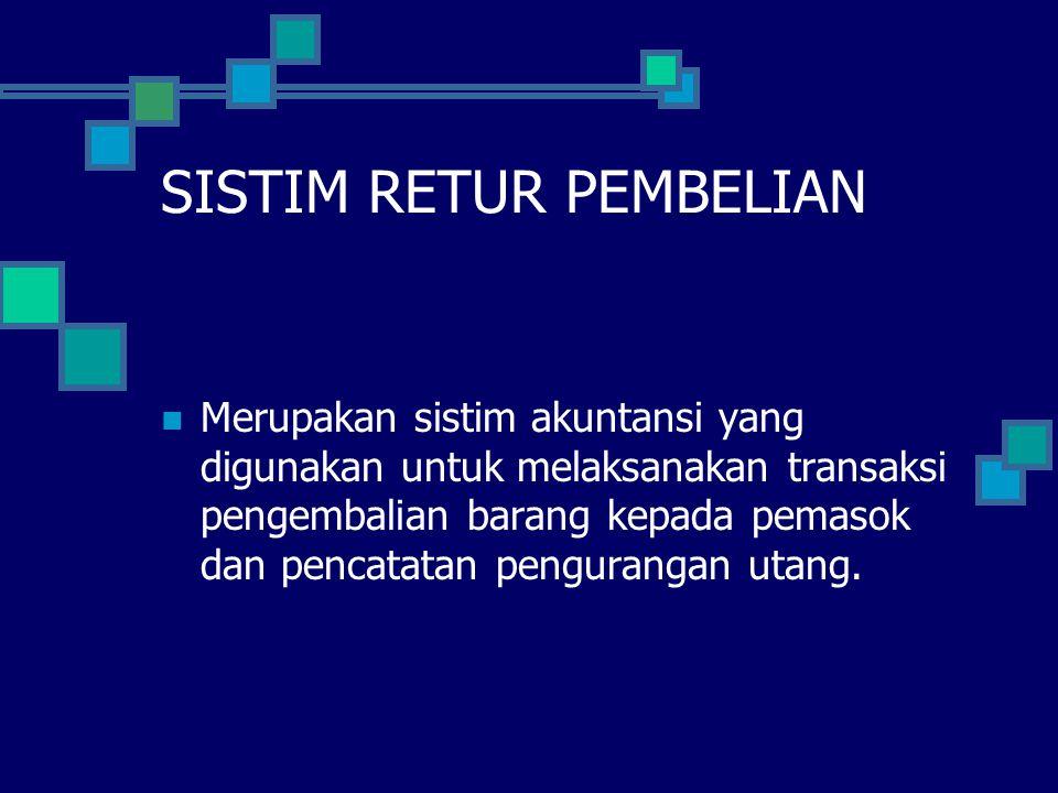 SISTIM RETUR PEMBELIAN