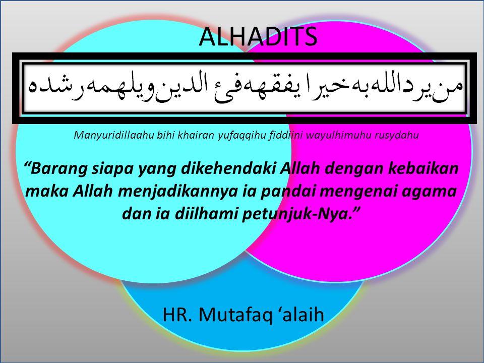 ALHADITS HR. Mutafaq 'alaih