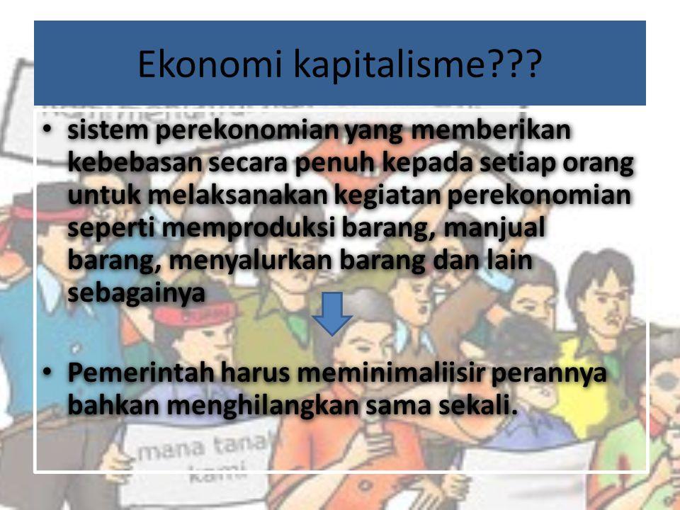 Ekonomi kapitalisme