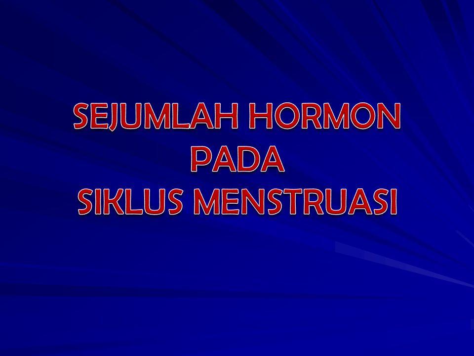 SEJUMLAH HORMON PADA SIKLUS MENSTRUASI
