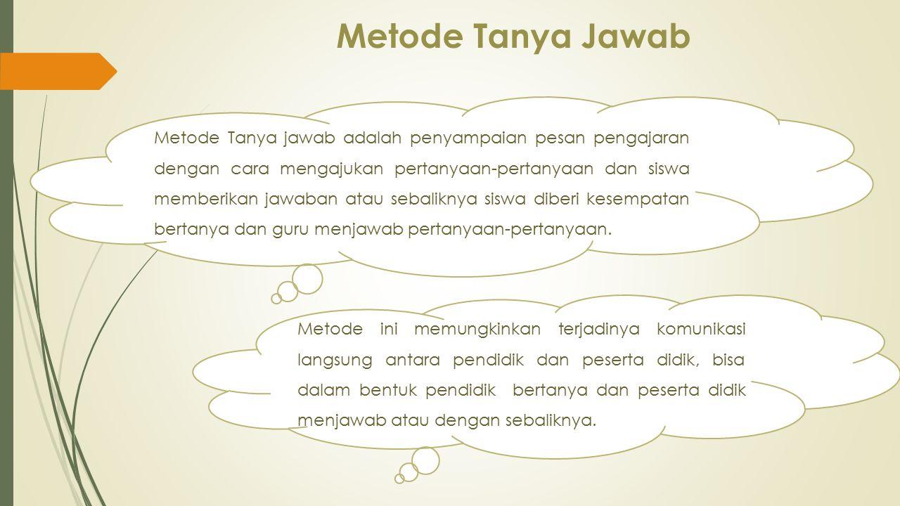 Metode Tanya Jawab