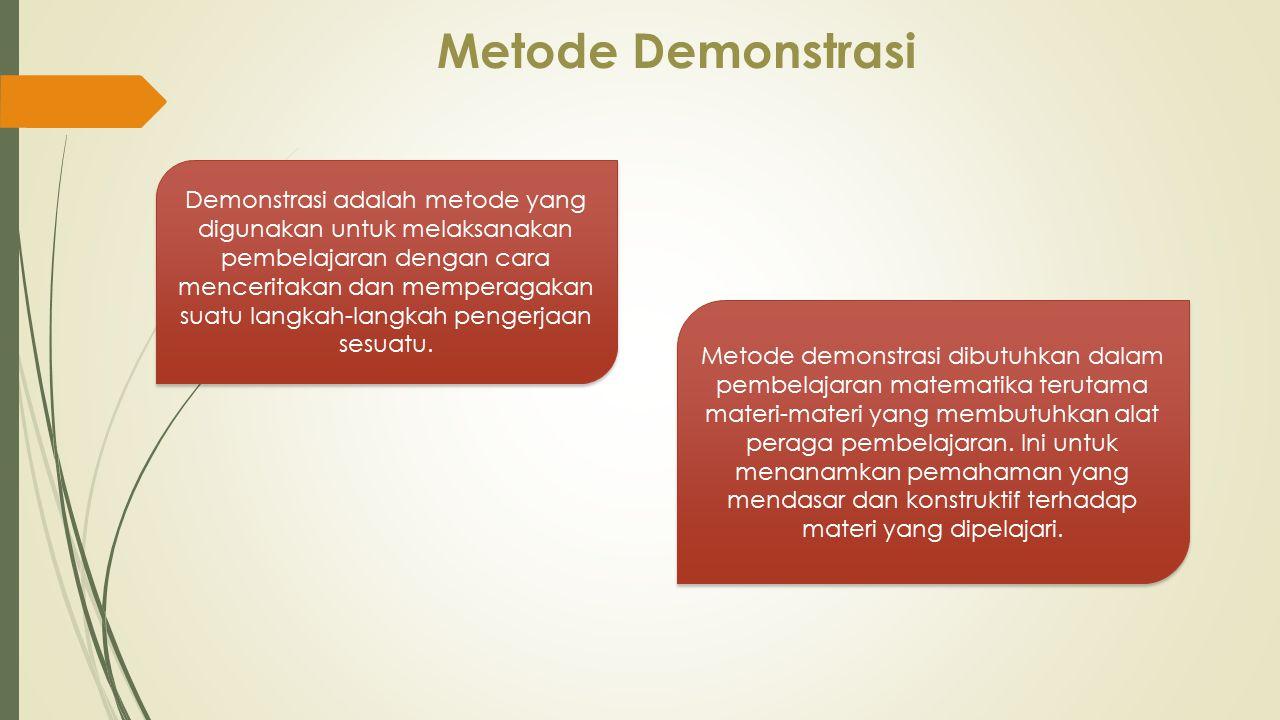 Metode Demonstrasi
