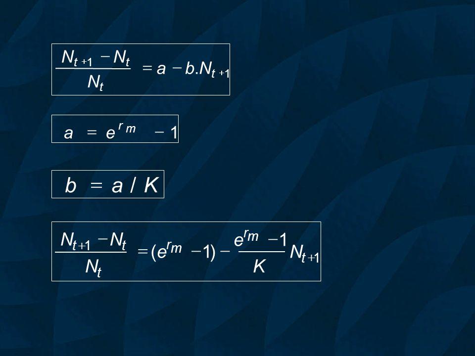 K a b / = ) ( - = N K e - = N b a . 1 - = e a r m + 1 t + t 1 t t 1 t