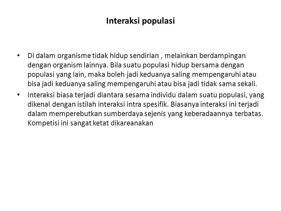 Interaksi populasi